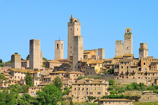 San Gimignano&Chianti Country wine with wine-tasting from Rome