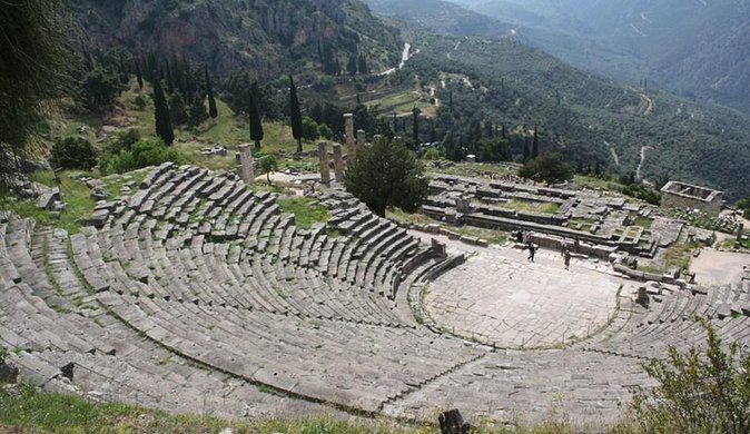 Delphi full day private tour from Athens (MiniVan, 1-7 passengers)