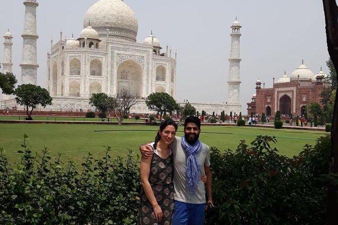 Same Day Taj Mahal Tour by Gatimaan Train