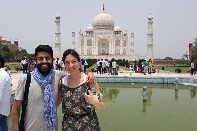 Taj Mahal Tour by Train with executive class