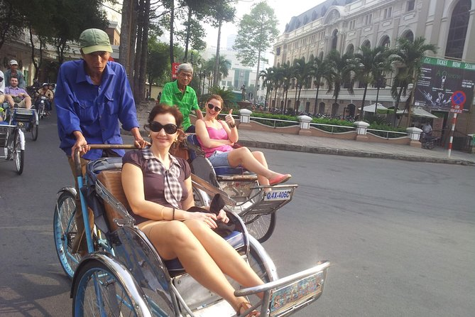 Ho Chi Minh City Shore Excursion: Private City Tour Including Cyclo Ride