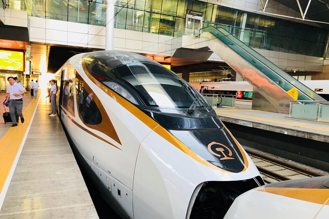 Private Tianjin Port Departure Transfer from Beijing by Bullet Train Experience