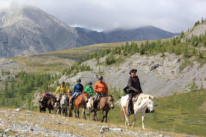 Horse Trekking in Khovsgol Lake NP-11 Days