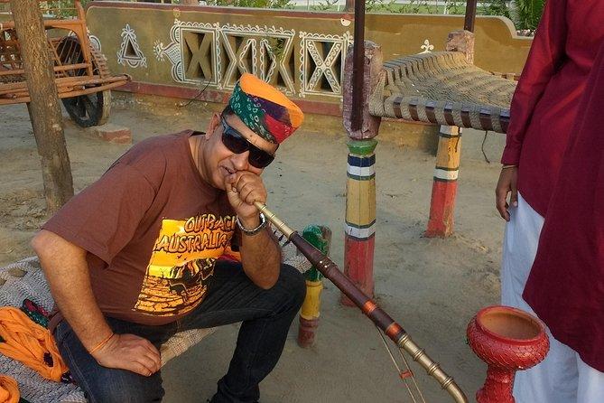 Day Trip To Chokhi Dhani At Sonipat