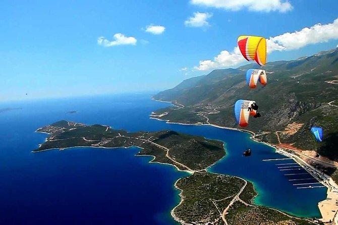 Paraglinding Kas