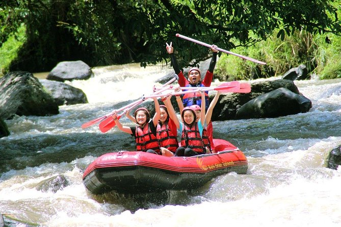Bali Whitewater Rafting at Ayung River with Lunch