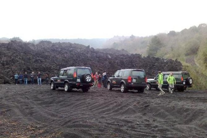 Full-Day Etna Jeep Tour from Taormina Including Lunch