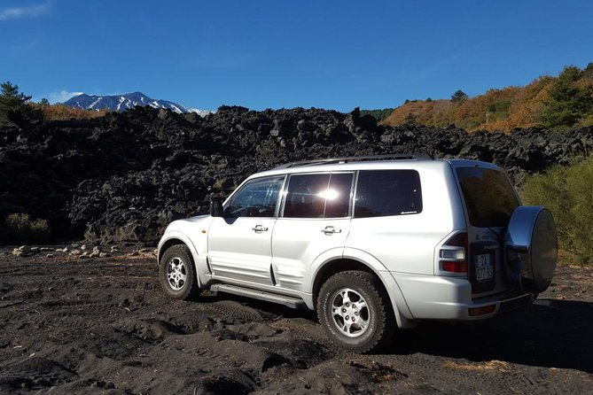 Etna & Alcantara Gorges by Land Rover from Taormina