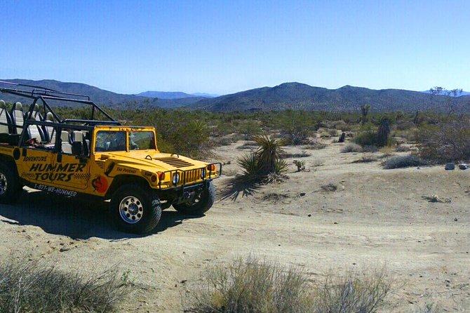 Joshua Tree Hummer Adventure from Palm Desert
