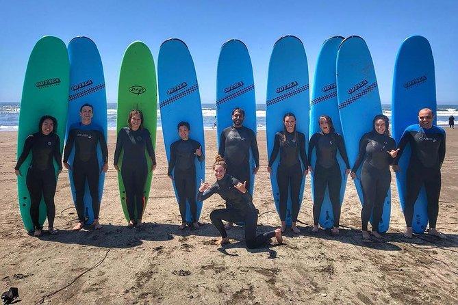 Beginner Surflessen in Marin