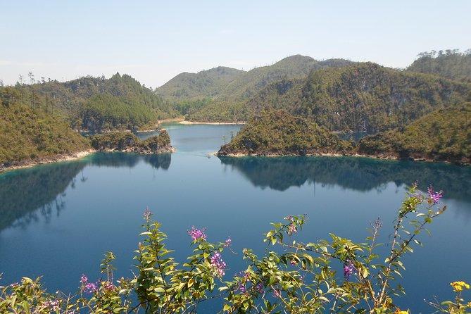Les cascades el Chiflon et excursion d'une journée sur les lacs Montebello au départ de Tuxtla Gutiérrez