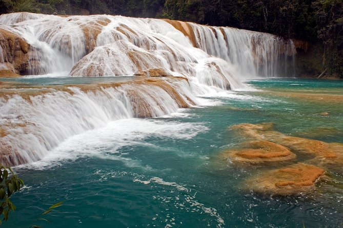 Agua Azul and Misolha Waterfalls Day Trip from Palenque