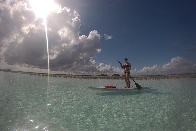 Sunrise Experiencie Standup paddleboarding Tour a Laguna Bacalar
