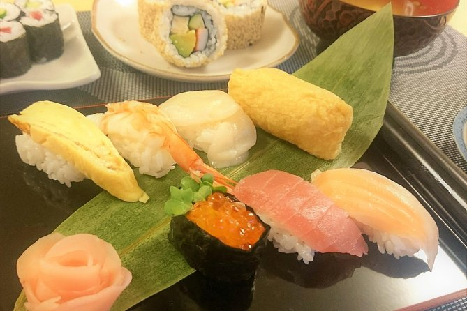 3-Hour Small-Group Sushi Making Class in Tokyo