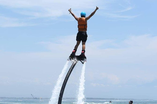 Bali Water Sport Combo Tour: Fly Board, Jet Ski, and Parasailing