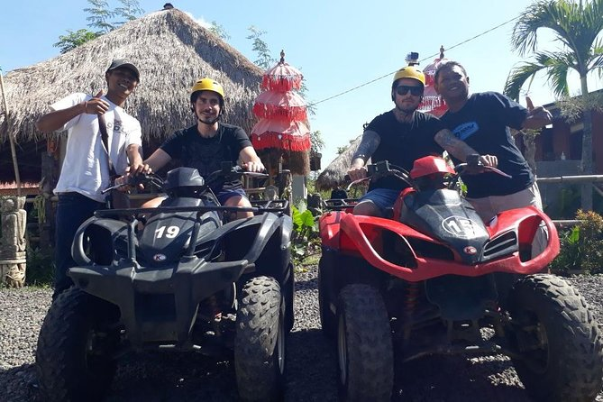 Ubud countryside: Ayung Rafting and Atv Quad bike with private transportation