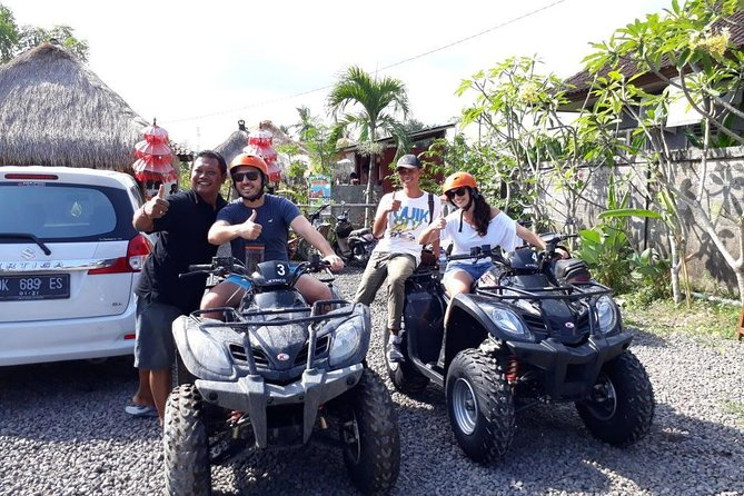 Ubud Countryside: ATV Quad Bike including Private Transfers