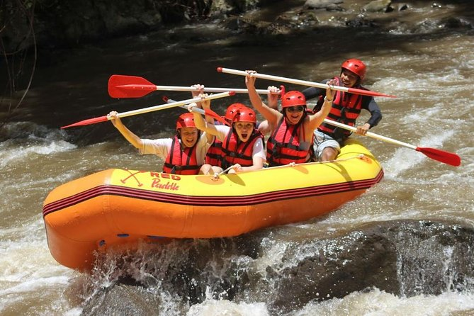 Bali white water rafting on ayung river