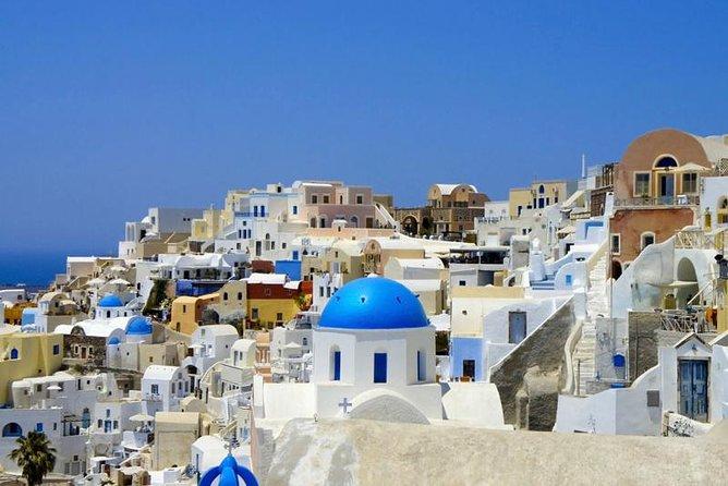 Full-Day Santorini Island tur fra Kreta