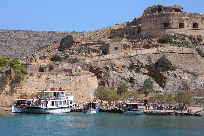 Crete Elounda and Spinalonga Island Cruise Day Trip