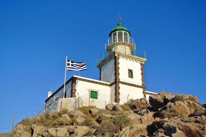 Half-Day Santorini South Coast and Akrotiri Tour from Fira