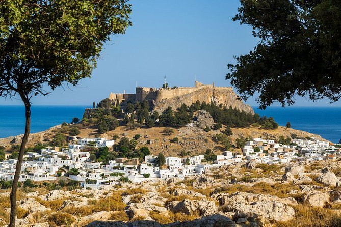 Rhodes Boat Tour with Lindos