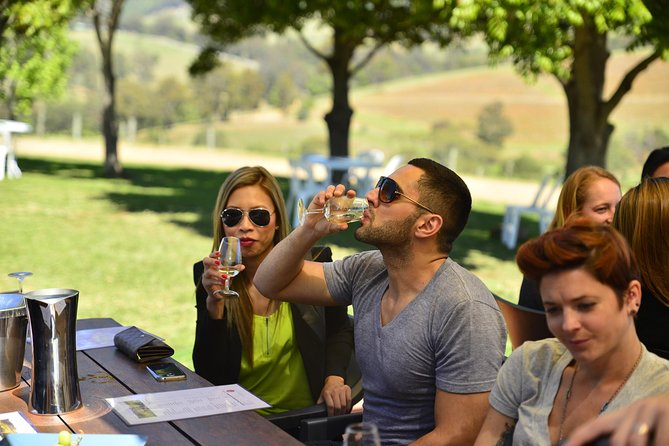 Hunter Valley Wine Tour ex Newcastle incl Lunch, Cheese, Chocolate & Distillery