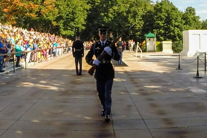 Arlington Cemetery, DC Monuments Tour Plus Washington Monument Admission