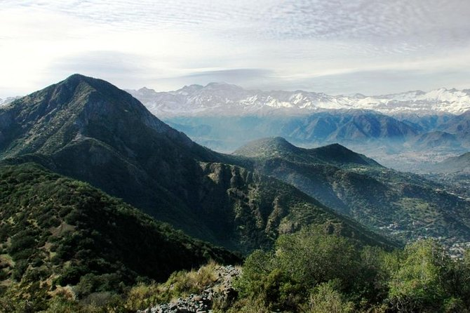 Half Day private Hike to Manquehue Hill, Incredible view of the Andes
