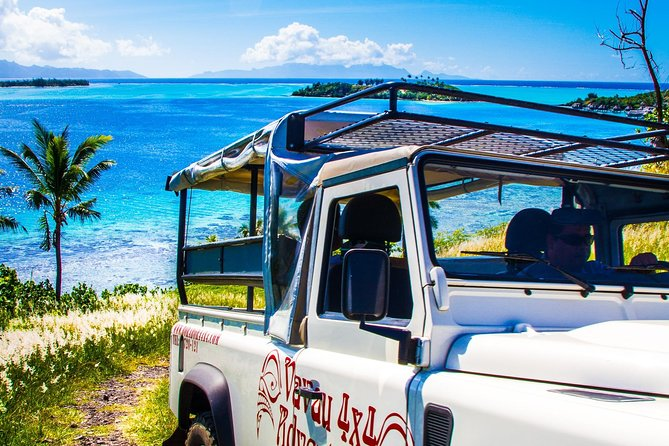 Bora Bora: Half Day Island 4WD Guided Tour