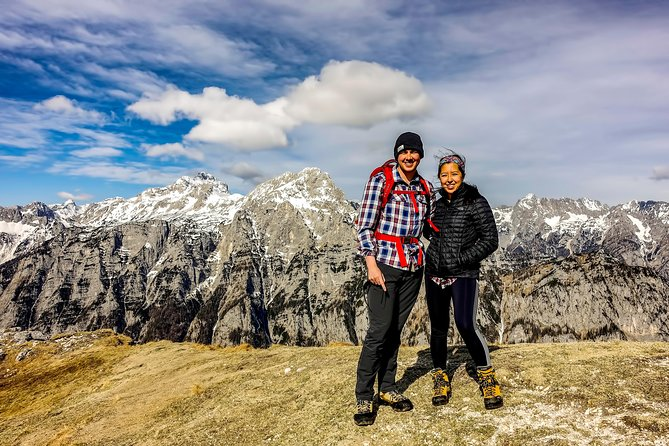 Panoramic hike in Julian Alps