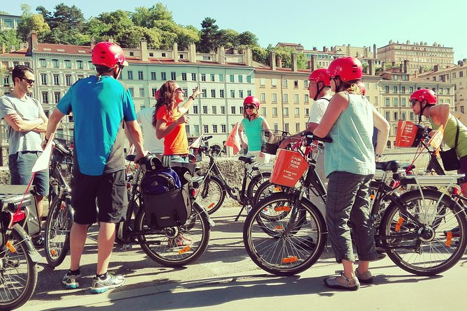 Lyon Small Group Guided Electric Bike Tour with Food Tasting