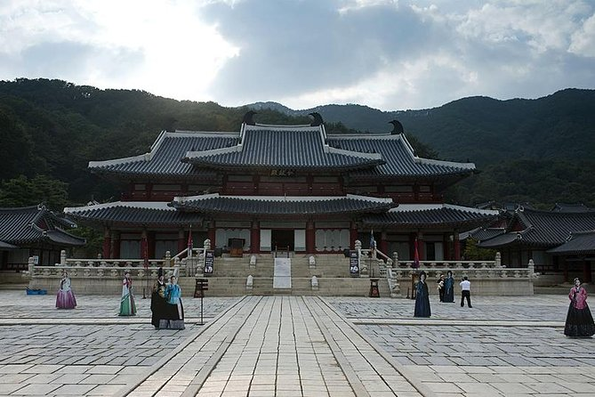Day Trip to Yongin Daejanggeum and Korean Folk Village from Seoul