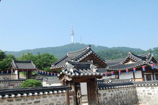 Seoul Morning Tour: Seoul Tower, Namsan Hanok Village, The War Memorial of Korea