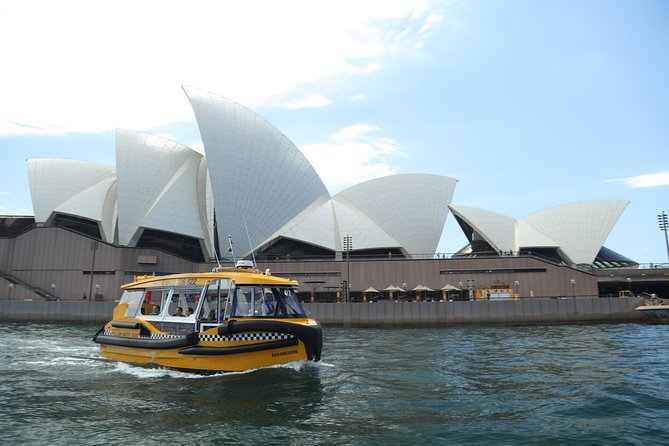 Private Sydney Harbour Cruise with Yellow Water Taxis