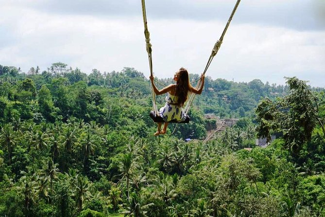 Rafting - Bali Swing - Monkey Forest and Ubud Market