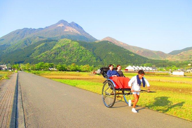 Hot Spring Capital of Yufuin Rickshaw Tour