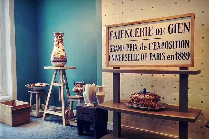 Gien Ceramic-Painting Workshop in Paris
