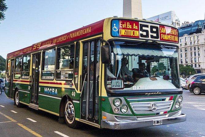 Private city tour by public transport