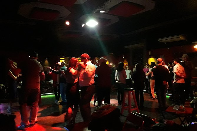 Authentic Tango night with a local