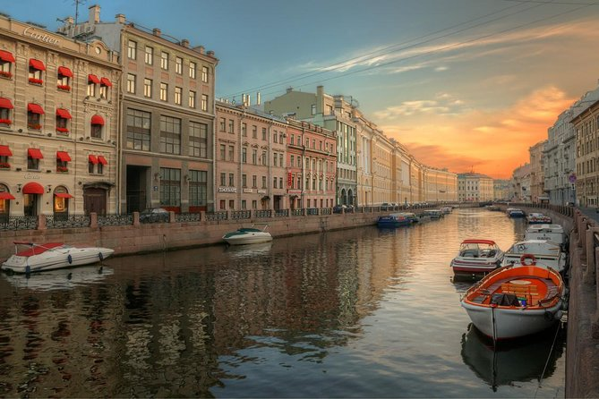 Saint Petersburg River and Canal Boat Cruise