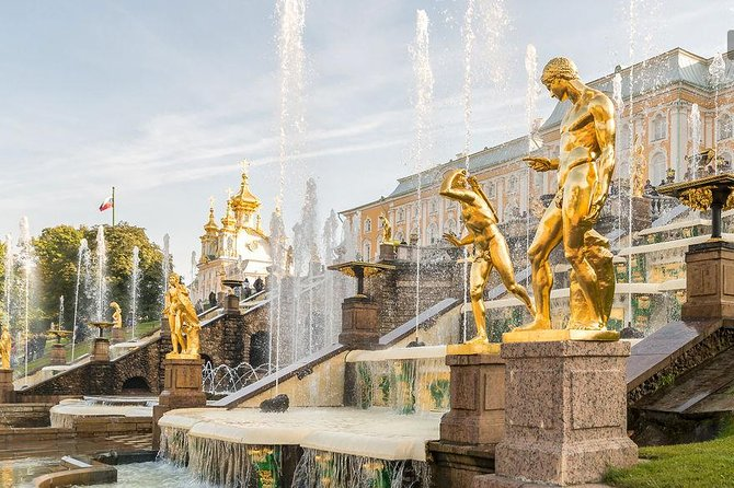 Private Tour of Peterhof Palace and Gardens