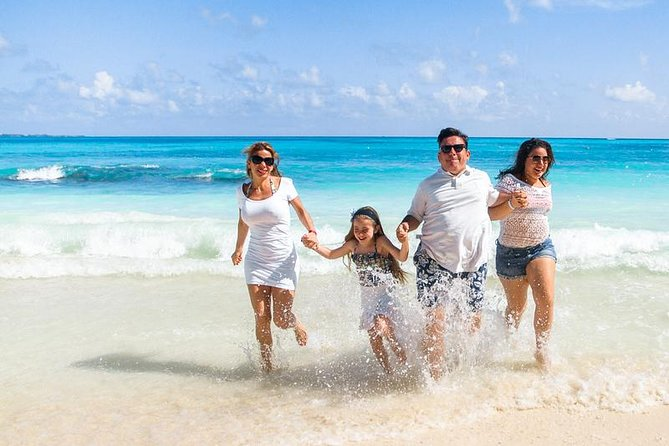Private Family Photo Shoot in Cancun