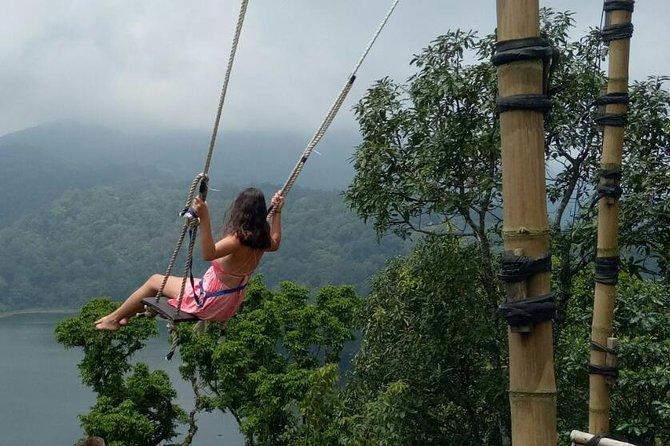 Rafting - Bali Swing - Monkey Forest og Ubud Market