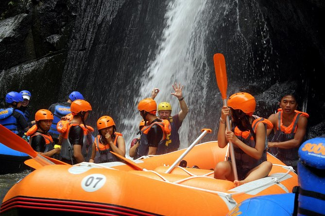 Bali Ayung River Rafting with Buffet Lunch