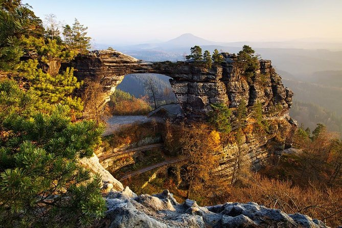 Bohemian Switzerland National Park hiking tour from Prague
