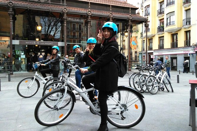 Madrid Fun and Sightseeing Ebike tour 3 hours Basic fundamental tour of Madrid