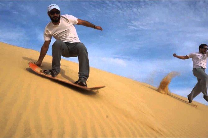 Surf des sables à Agadir avec déjeuner