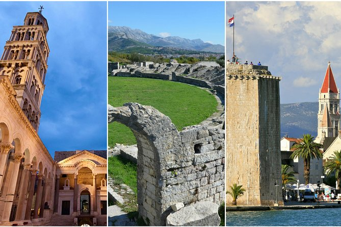 Best of Split - guided tour of Split town, Klis fortress, Salona and Trogir city
