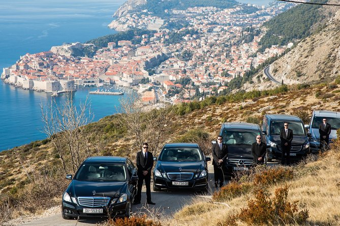 Our crew over Dubrovnik